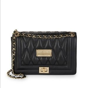 Mario Valentino Quilted Shoulder Crossbody Bag